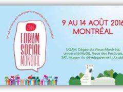 Retour sur le Forum social mondial de Montréal